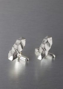 Solid Silver UCC Ogham Collection Cufflinks