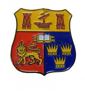 UCC Crest Pin Badge