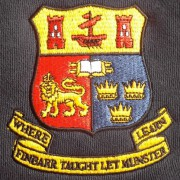 Embroidered Crest on Half Zip