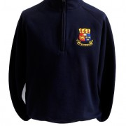 Navy Crested Half Zip