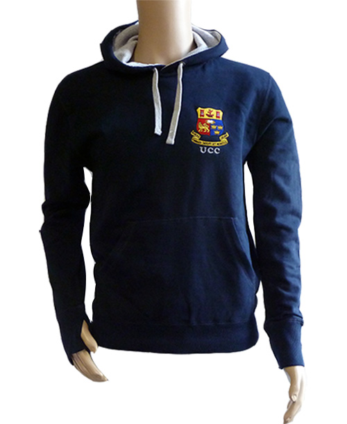 e2d065d1f1 UCC Crested Contrast Hoodie - UCC Shop