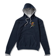 Navy with Grey Hood