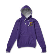 Purple with Grey Hood