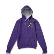 Purple with Grey Hood