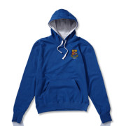 Royal Blue with Grey Hood
