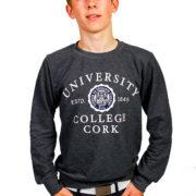 melange-sweatshirt-dark grey