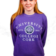 melange-sweatshirt-purple