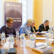 The Keynes Centre. Executive Book Club participants meet for the first time